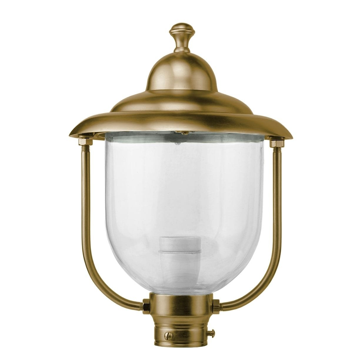 Außenbeleuchtung Klassisch Ländlich Einzelne lampenschirm bronze K62BR - 35 cm