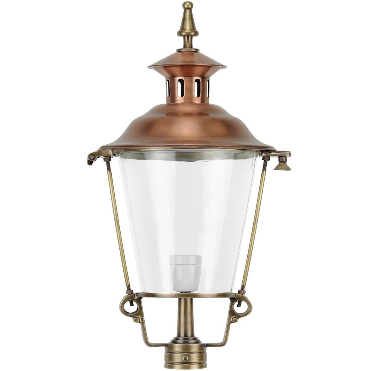 Außenbeleuchtung Klassisch Ländlich Einzelne laterne bronze K25 - 100 cm
