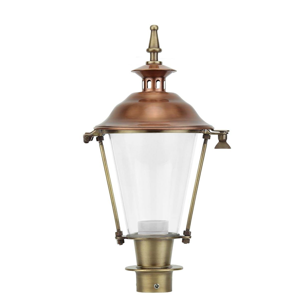 Außenbeleuchtung Klassisch Ländlich Einzelne laterne bronze K28 - 40 cm
