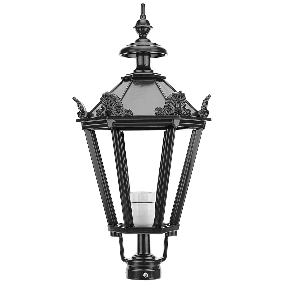 Outdoor lighting Classic Rural Loose lantern shade K10+ with crowns - 90 cm