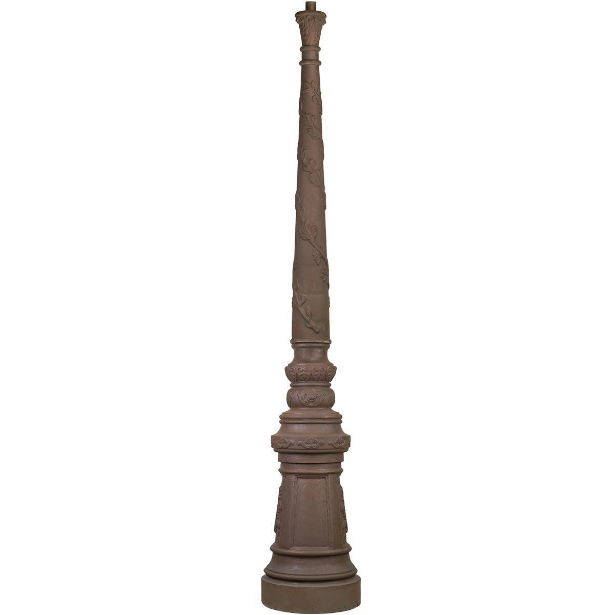 Outdoor Lighting Components Loose lantern pole cast iron M01 - 240 cm