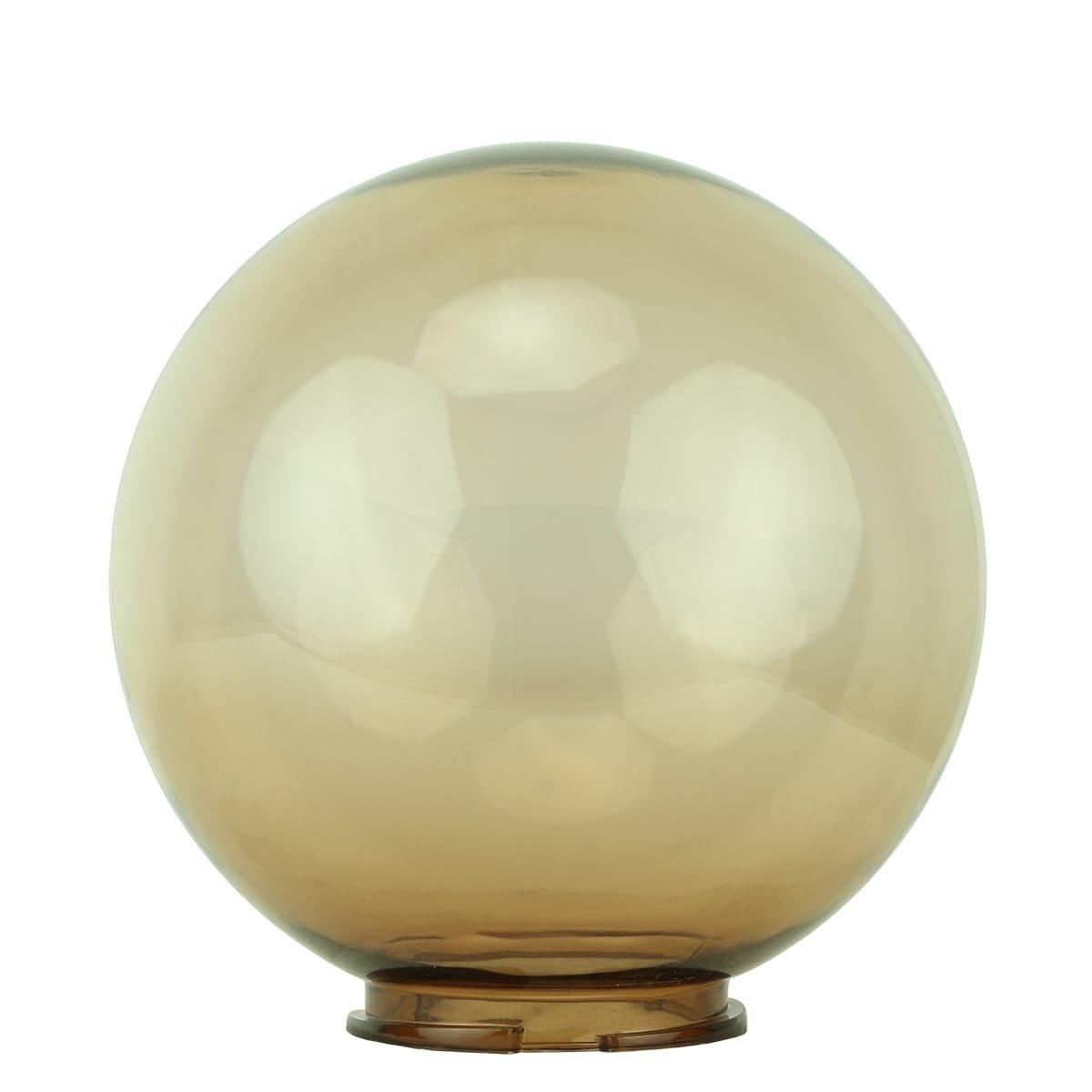 Buitenverlichting Onderdelen Losse tuinbol lamp rooklglas - Ø 30 cm