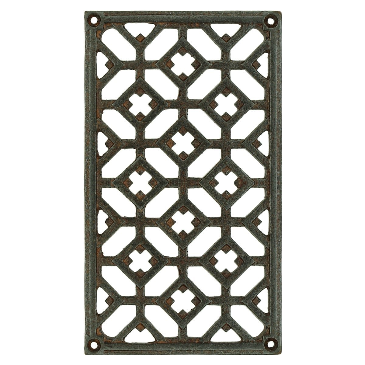 Hardware Grilles & Grates Air vent grill door antique Calbe - 200 mm