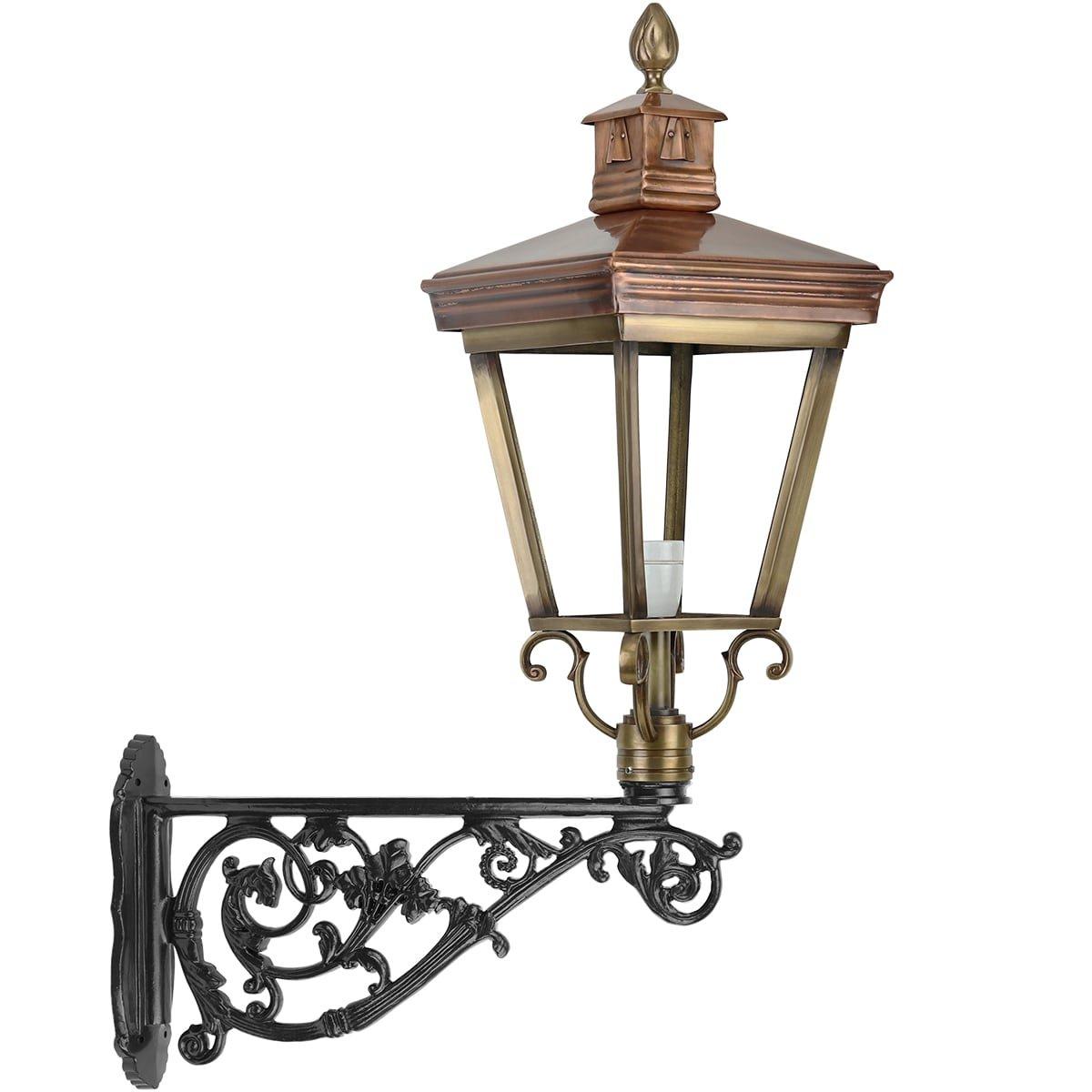 Outdoor Lighting Classic Rural Wall lantern outside Asschat bronze - 144 cm