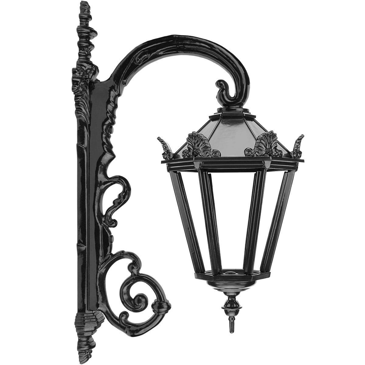 Außenbeleuchtung Klassisch Ländlich Mauerleuchte hängen Drouwenerveen - 70 cm