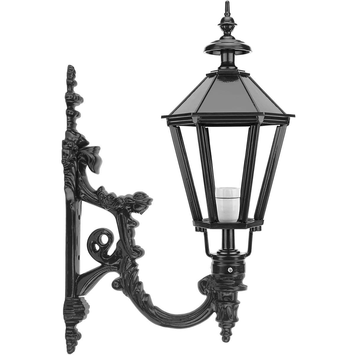 Außenbeleuchtung Klassisch Ländlich Wandleuchte Sechseck Augustinusga - 78 cm