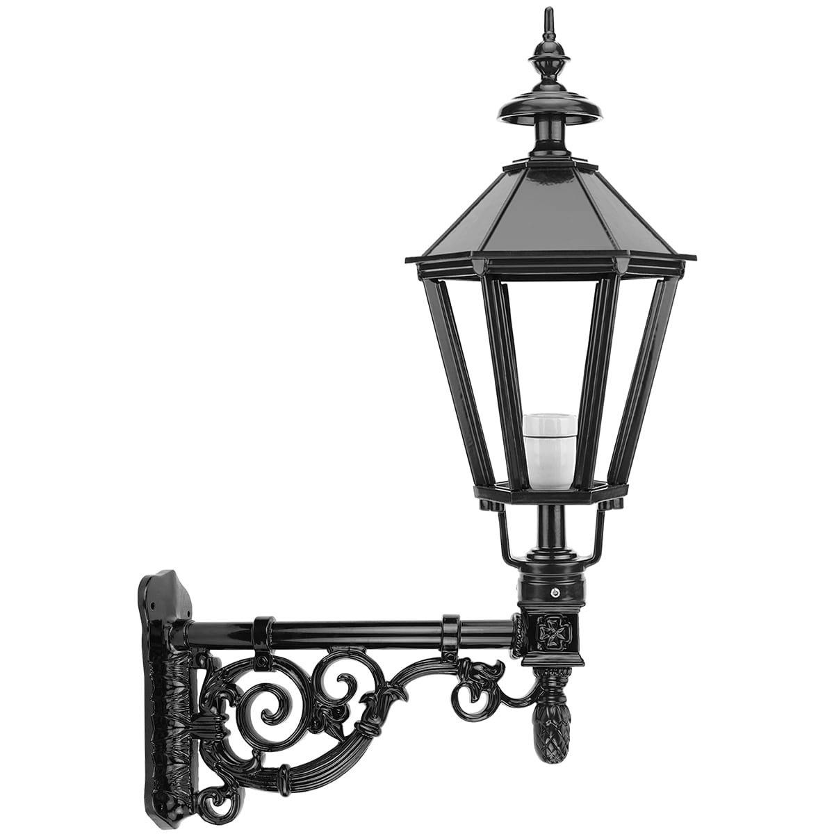 Außenbeleuchtung Klassisch Ländlich Mauerlaterne antikes stil Zwartsluis - 103 cm