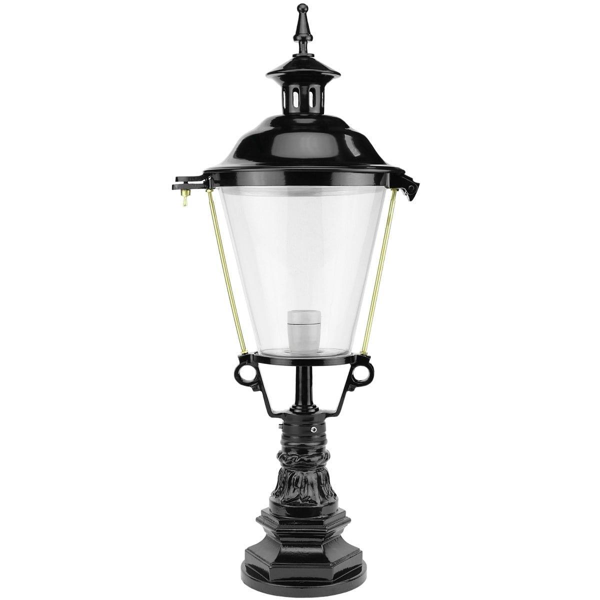 Außenbeleuchtung Klassisch Ländlich Zaunlaterne rund Katwoude - 81 cm