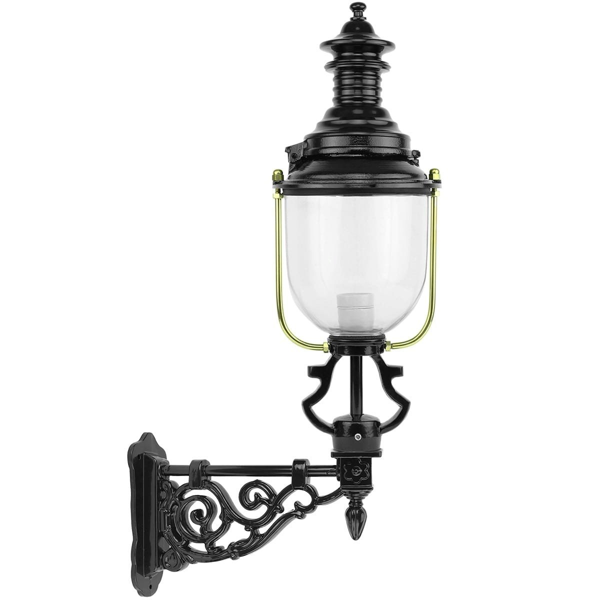 Buitenverlichting Klassiek Landelijk Schutting lantaarn Blitterswijck - 102 cm