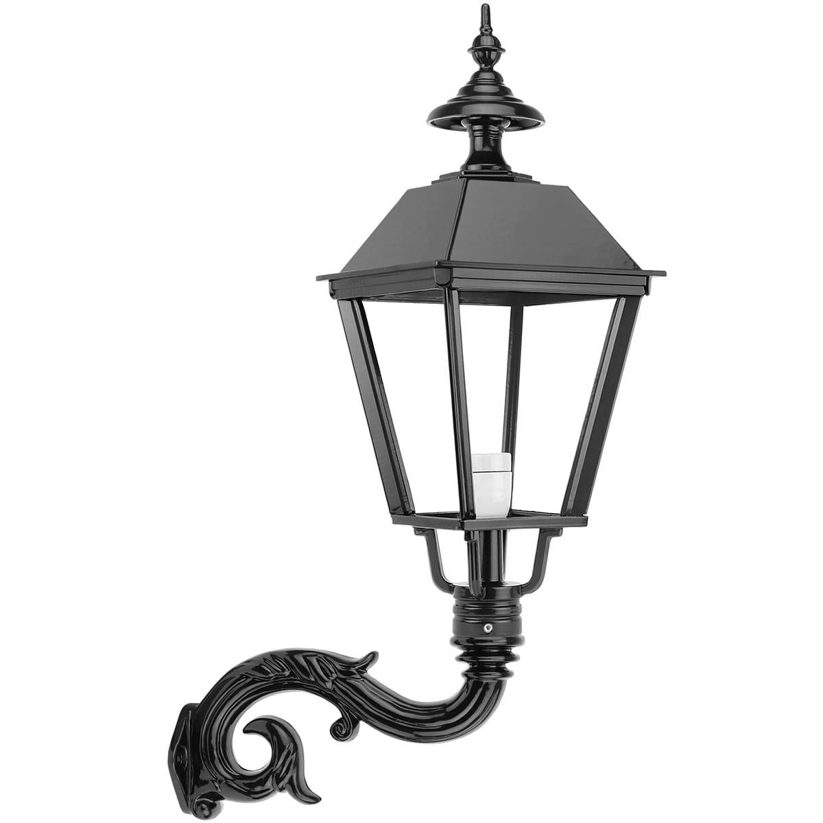 Buitenverlichting Klassiek Landelijk Schuurlamp vierkant Beverwijk - 77 cm