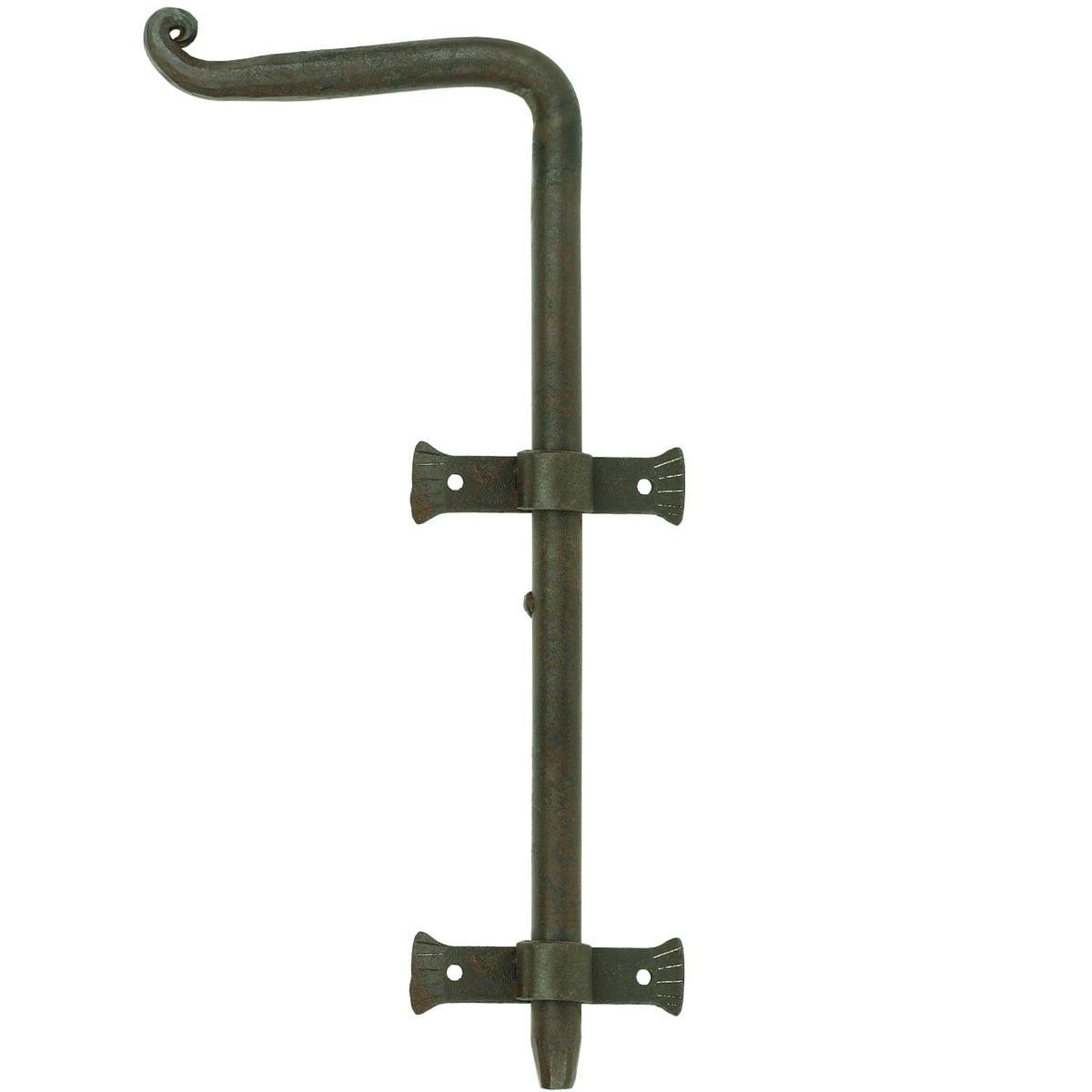 Türbeschläge Türschlösser Türriegel lange stift schmiedeeisen - 400 mm