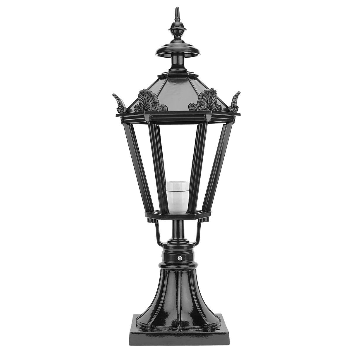 Buitenverlichting Klassiek Landelijk Terraslamp Winsum met kronen - 79 cm
