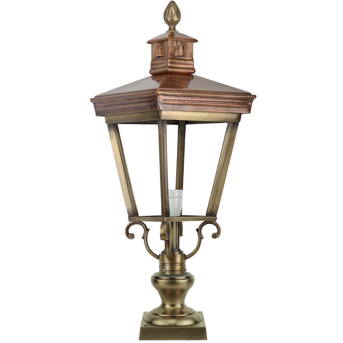 Outdoor Lighting Classic Rural Terrace lantern Deersum brass - 73 cm