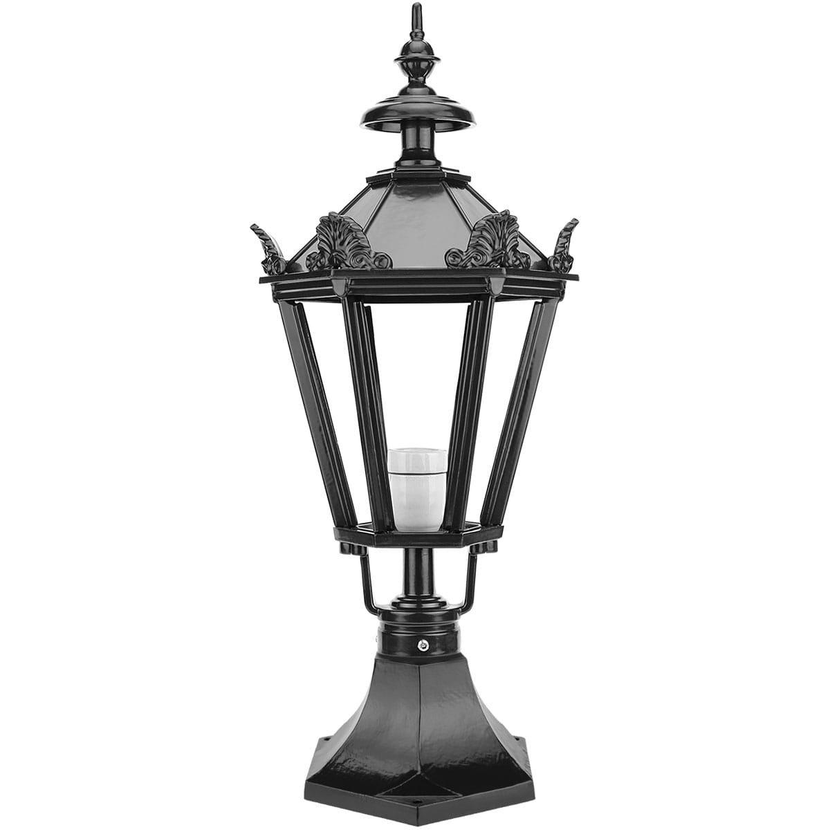 Outdoor Lighting Classic Rural Terrace lantern Leerdam with crowns - 64 cm