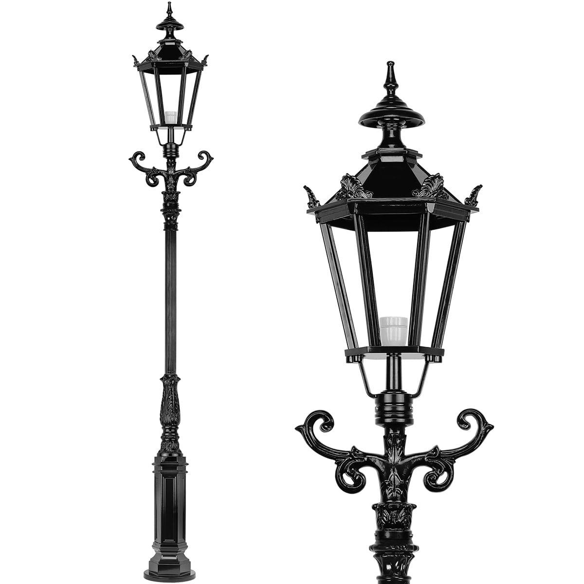 Außenbeleuchtung Klassisch Ländlich Terrassen laterne Zeist - 330 cm
