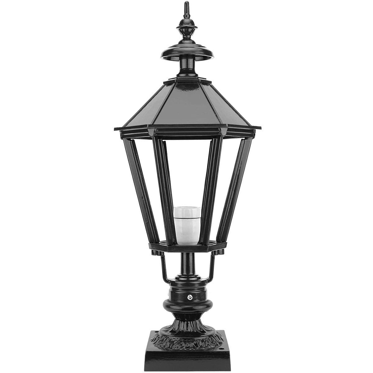 Buitenverlichting Klassiek Landelijk Tuinlamp zeskant Abbekerk - 62 cm