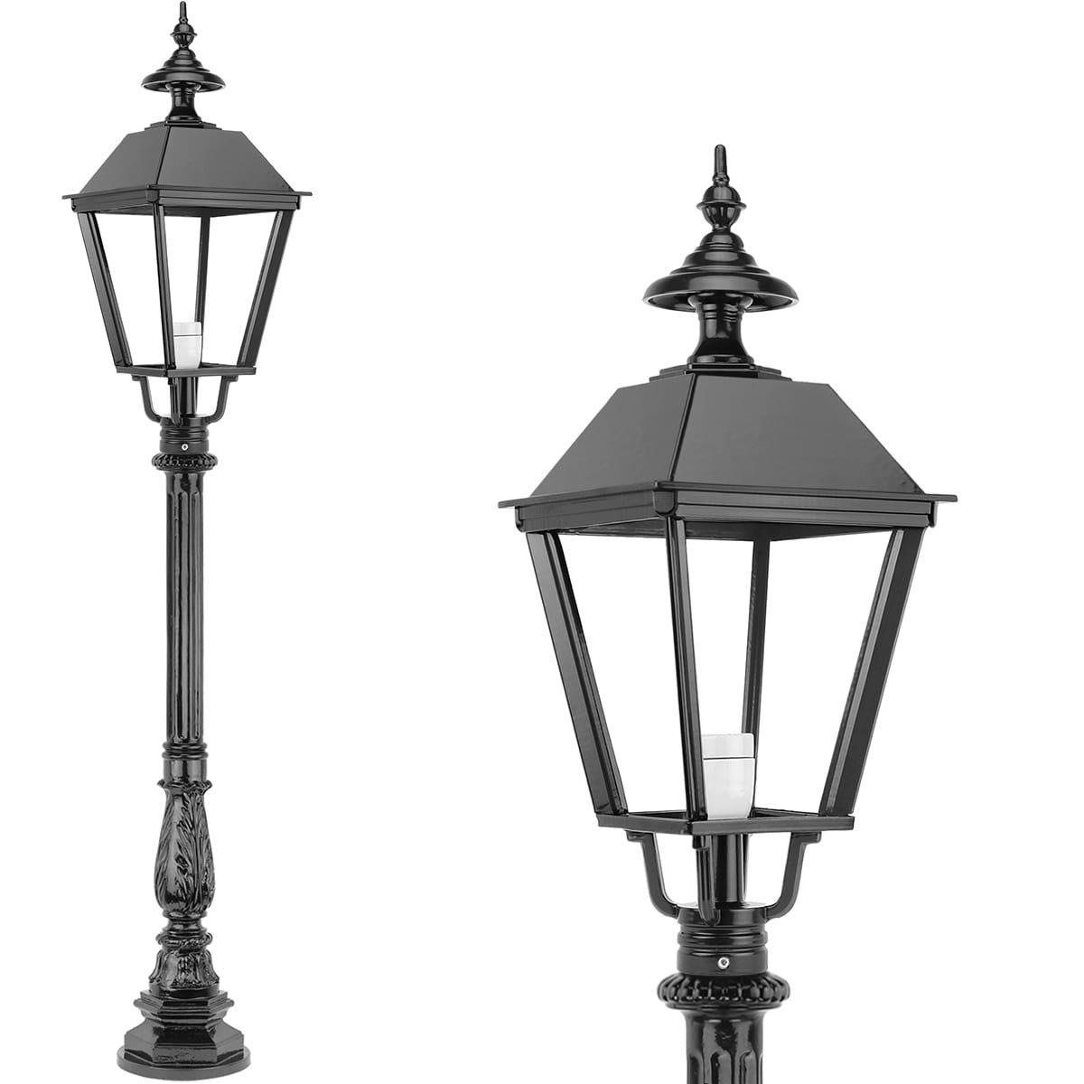 Buitenverlichting Klassiek Landelijk Staande lantaarn voor buiten