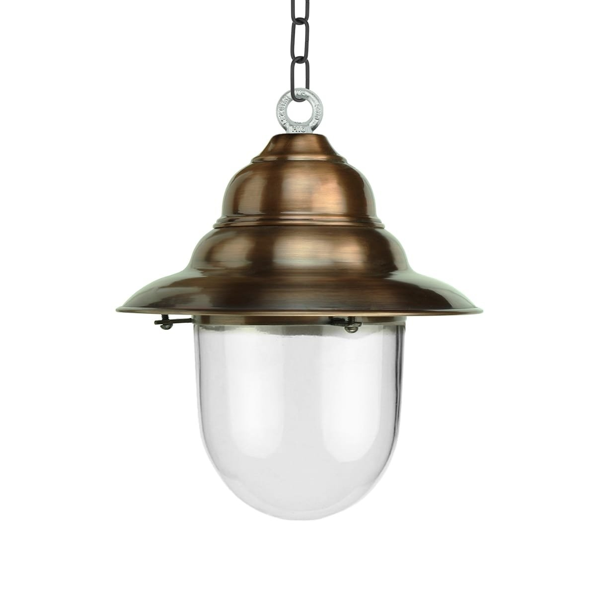 Outdoor Lighting Classic Rural Porch lamp rustic Archem copper - 35 cm