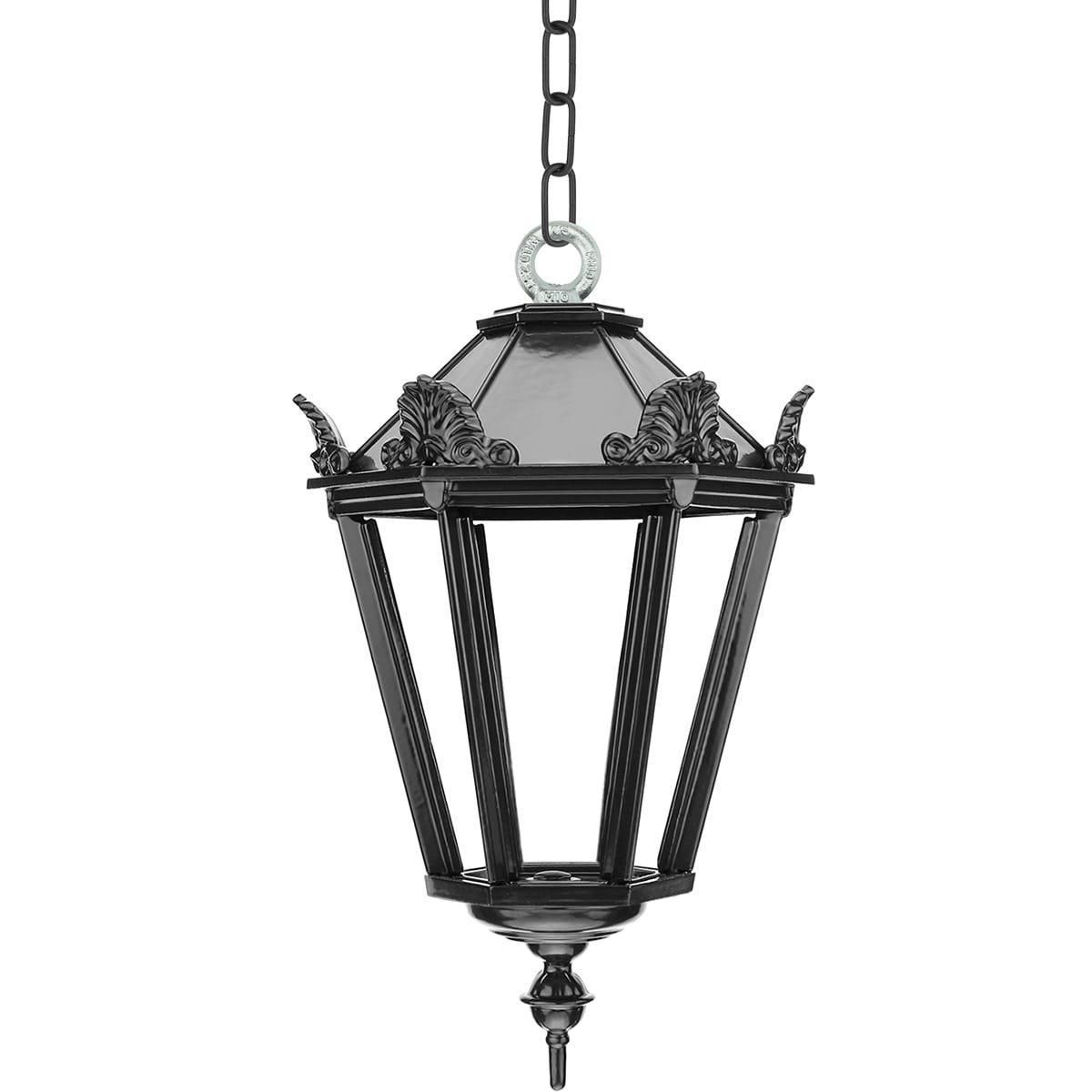 Outdoor lighting Classic Rural Porch lamp Sliedrecht on chain S - 40 cm