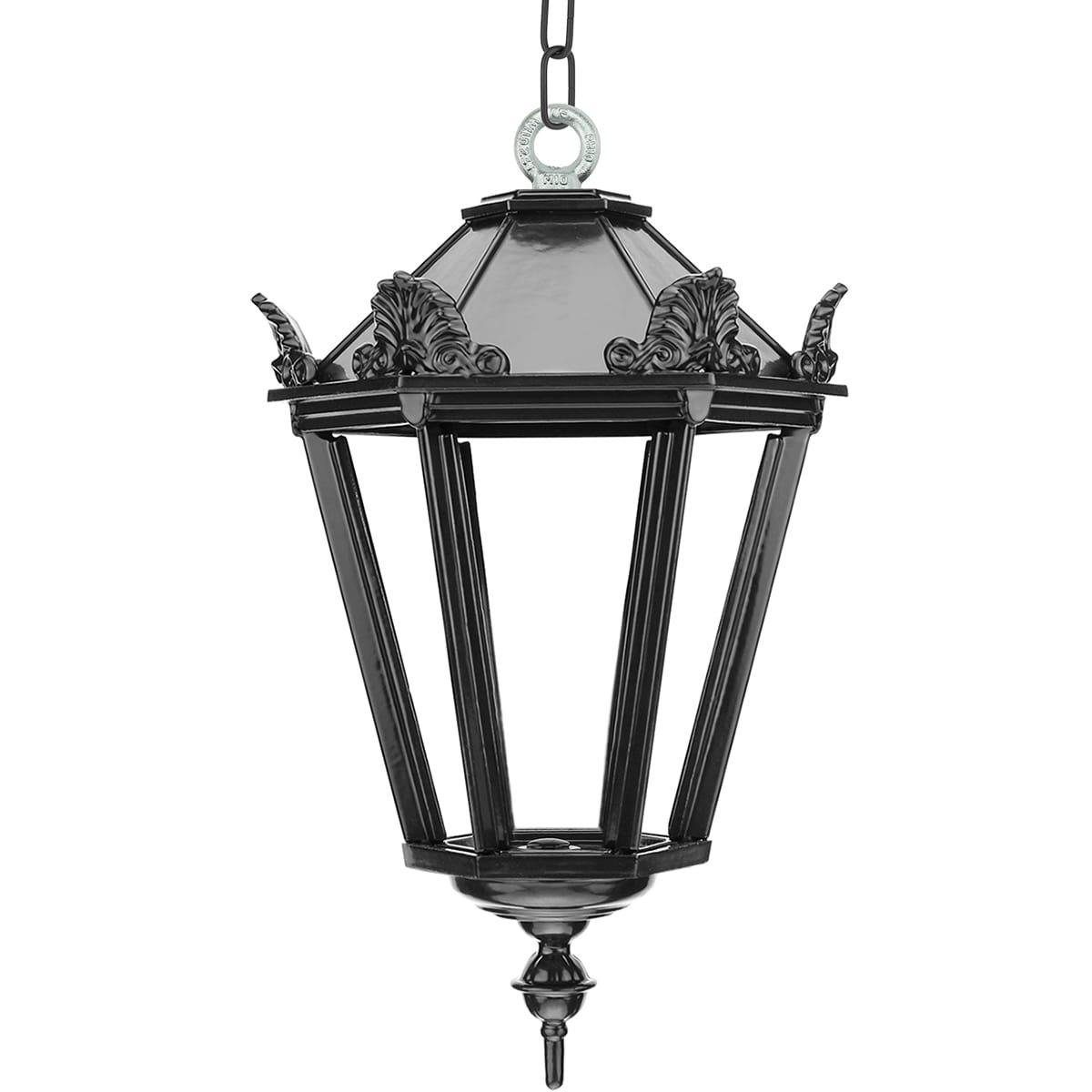 Außenbeleuchtung Klassisch Ländlich Veranda lampe Sliedrecht auf kette XL - 70 cm