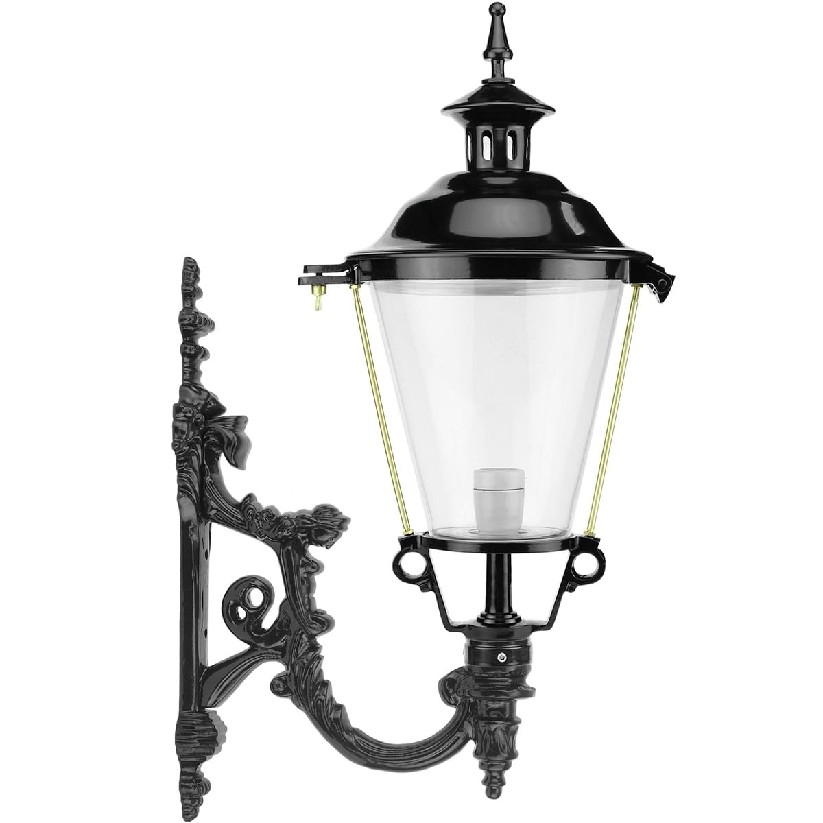 Außenbeleuchtung Klassisch Ländlich Wandlaterne Außen Sassenheim - 83 cm