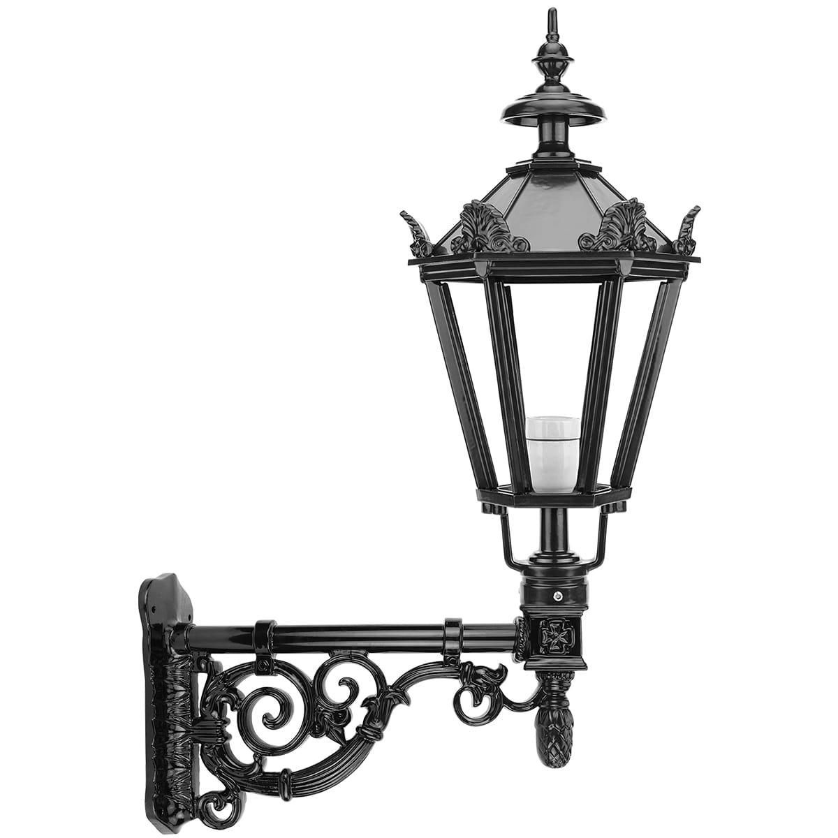 Außenbeleuchtung Klassisch Ländlich Wandlaterne alt Holländisch Diemen - 103 cm