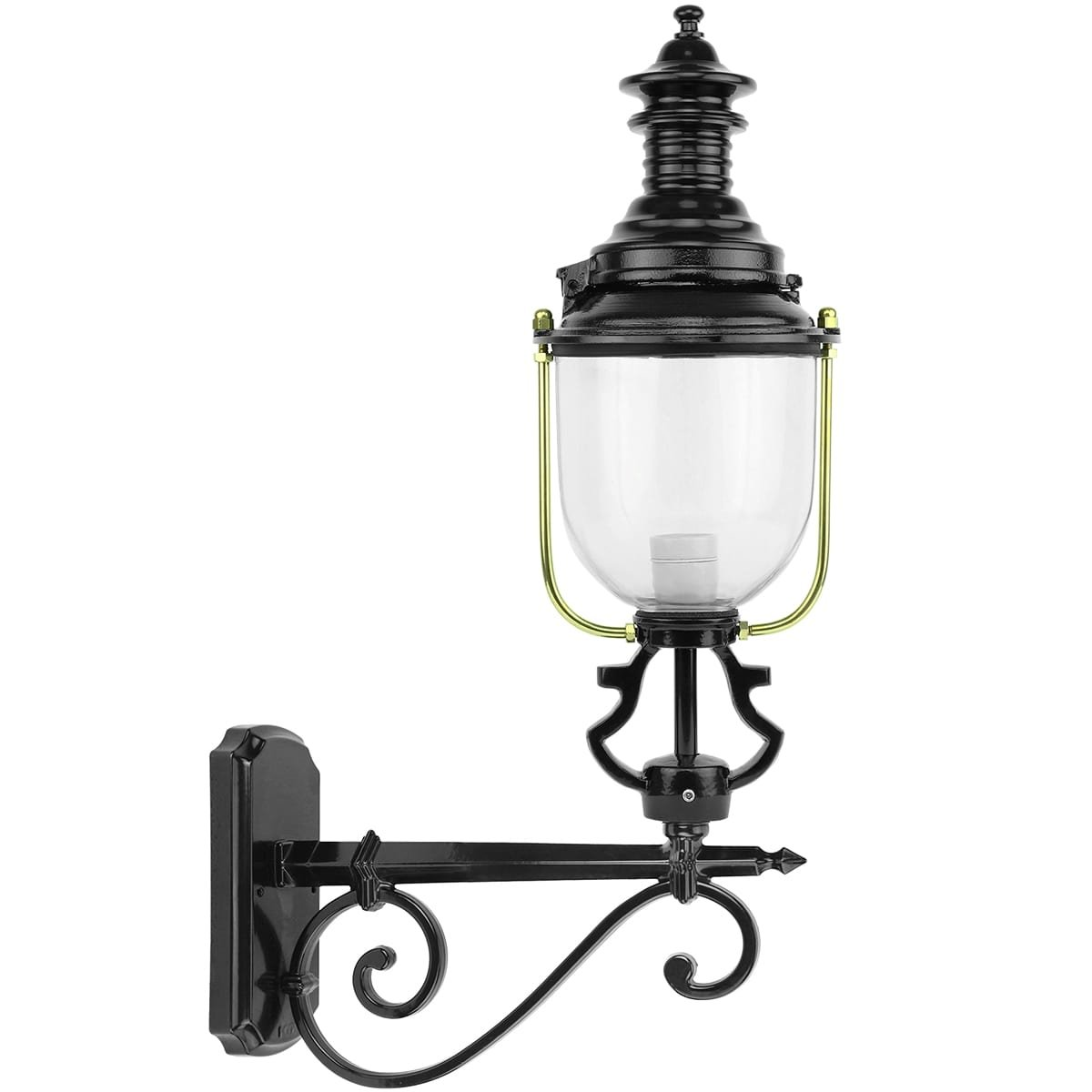 Outdoor Lighting Classic Rural Wall lantern round Arensgenhout - 75 cm